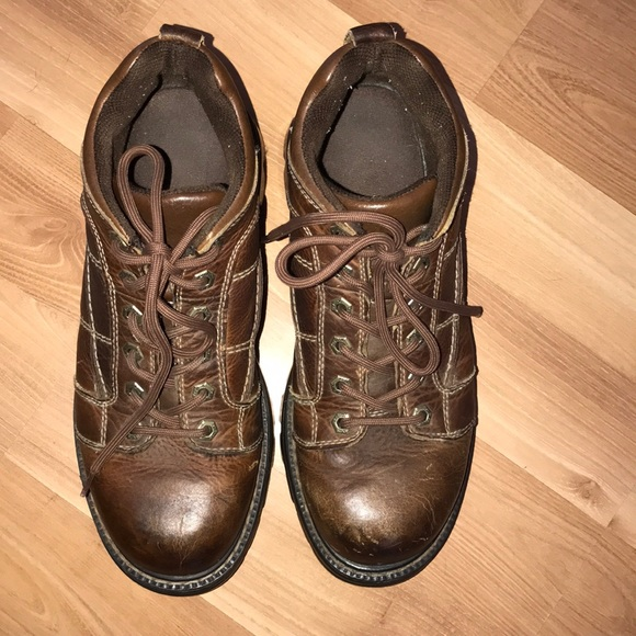 9a91b75338cf GBX Other - GBX Men s brown leather work ankle boots size 12